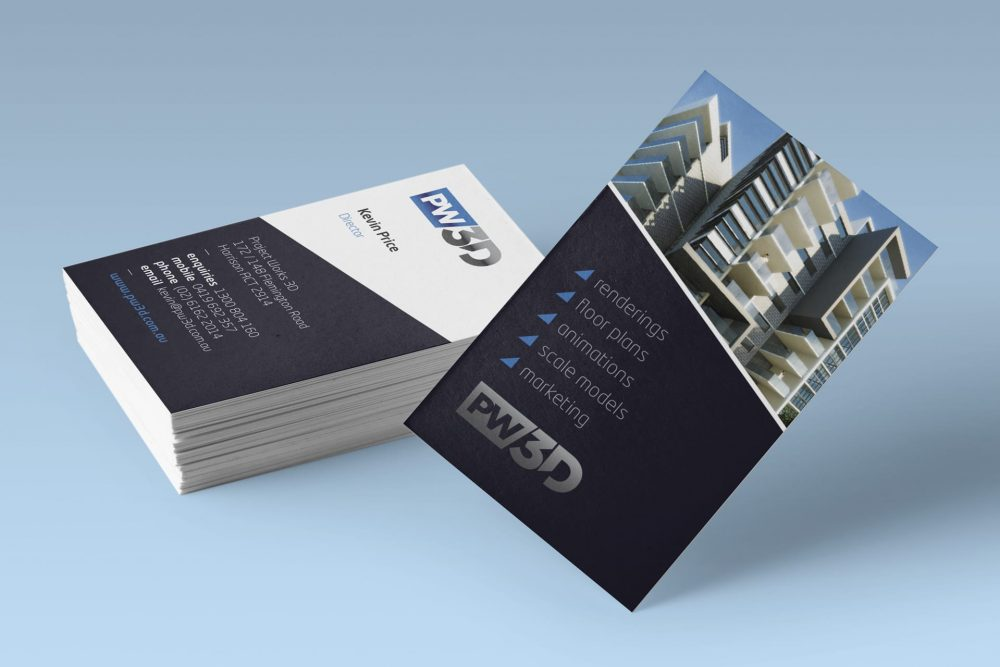PW3D business cards