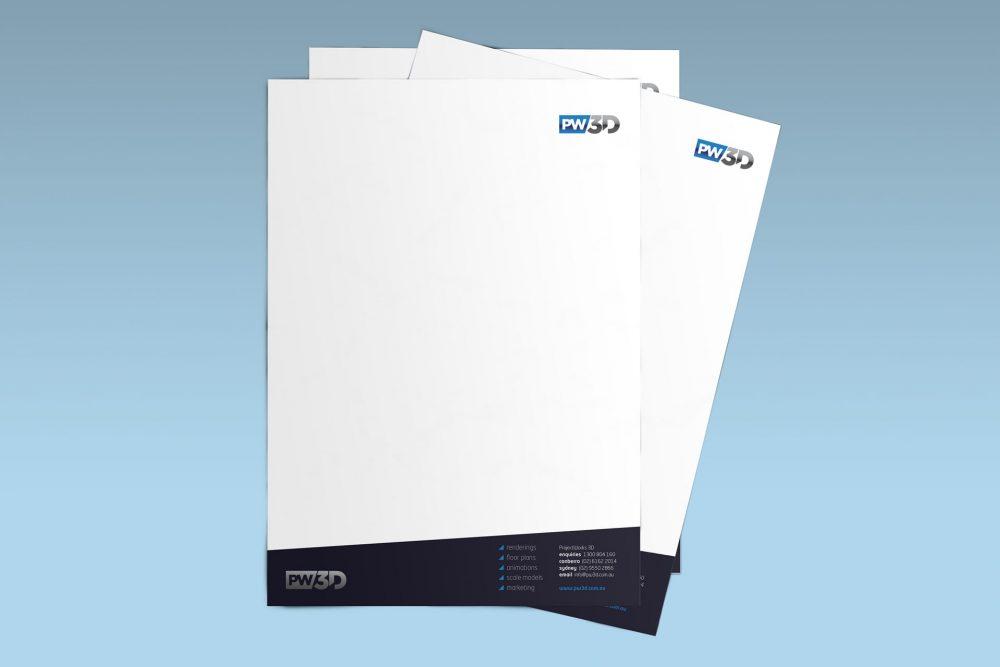 PW3D letterhead