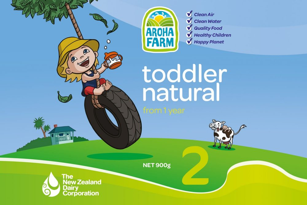 Aroha Farm Toddler Formula