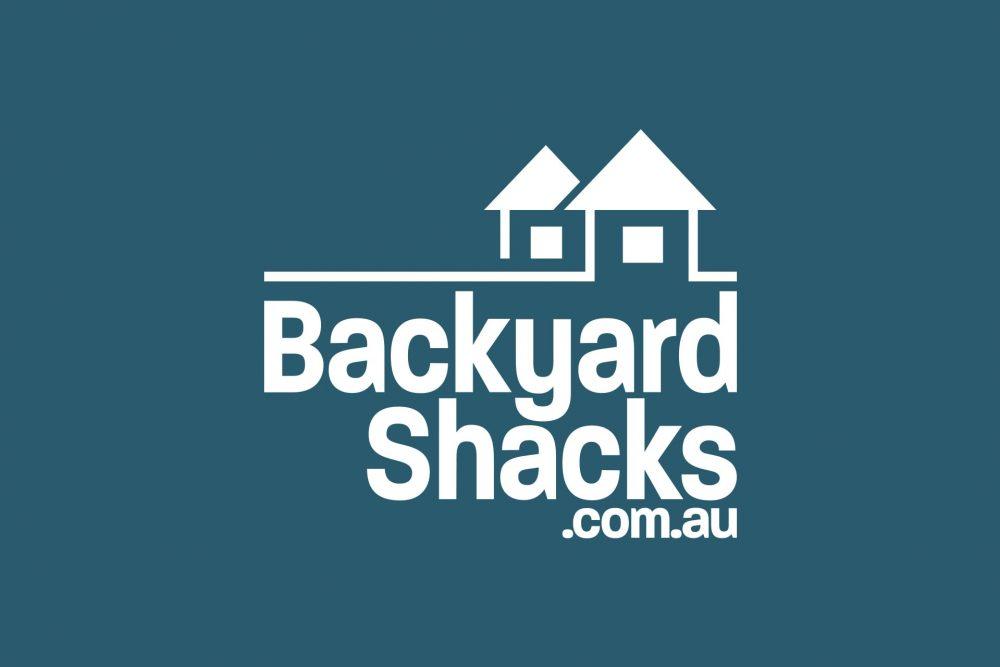Backyard Shacks logo mono