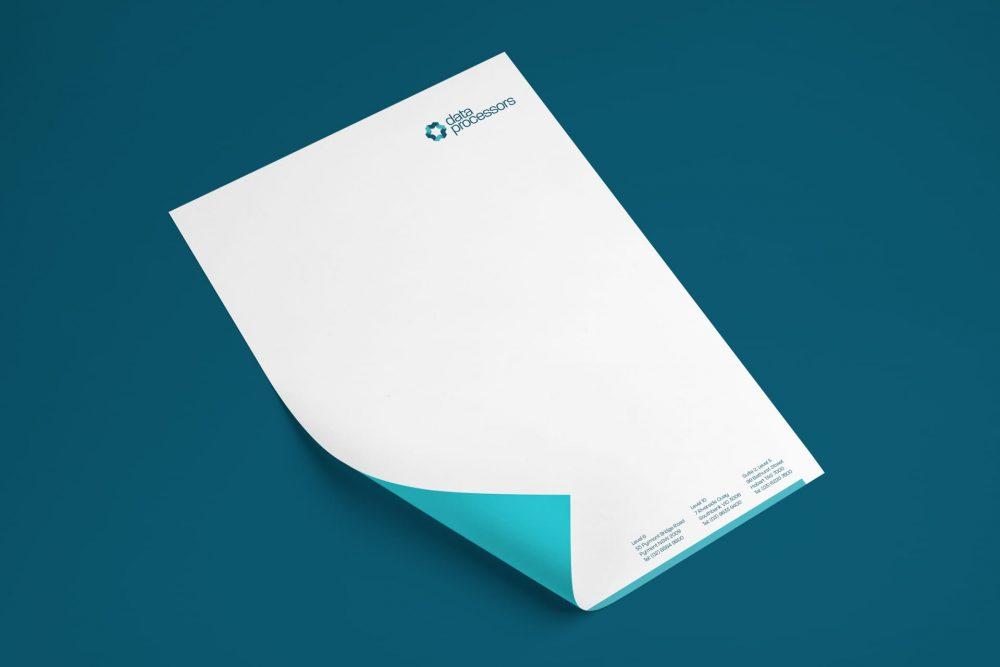 data processors letterhead