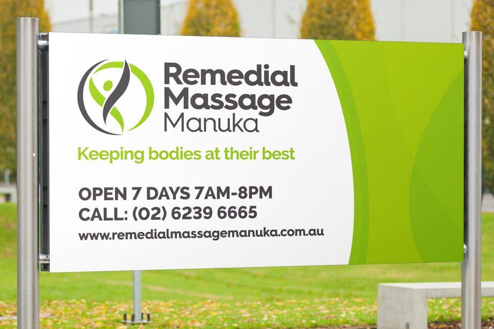 RMM signage