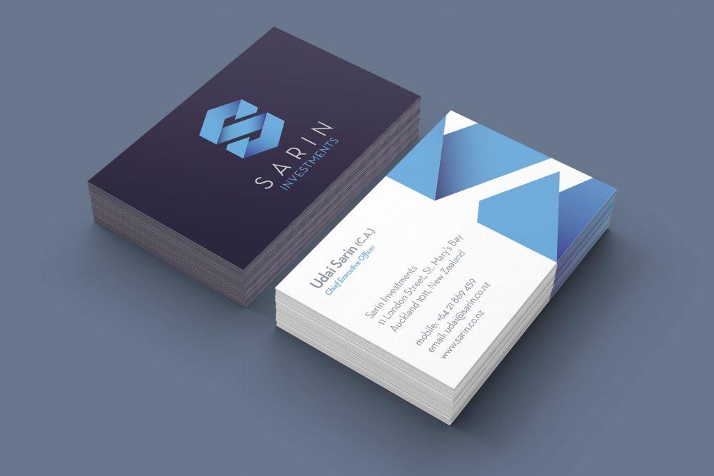 Sarin business cards