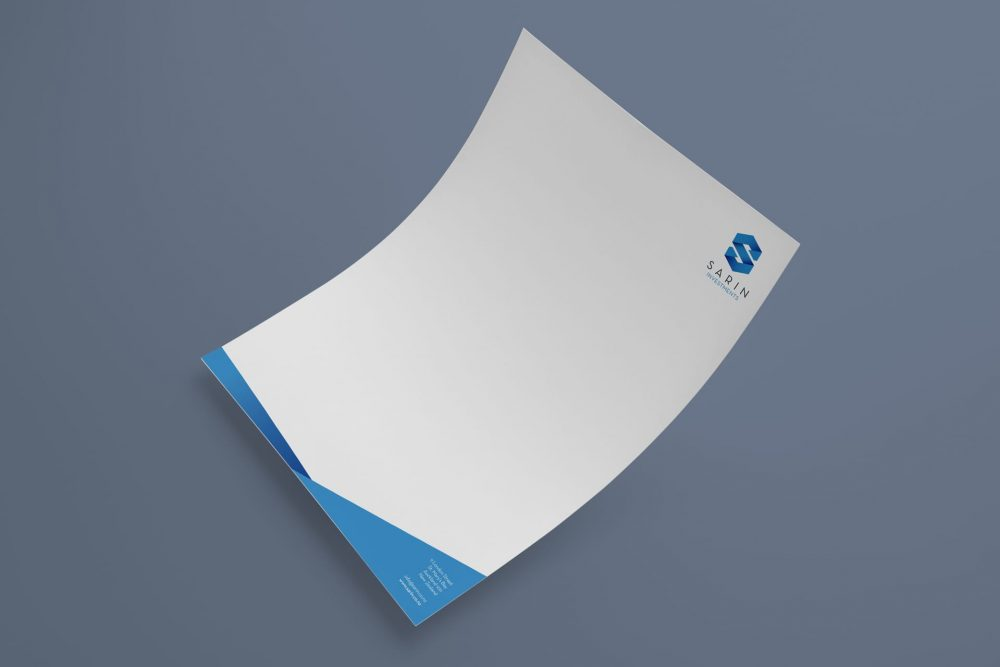 Sarin letterhead