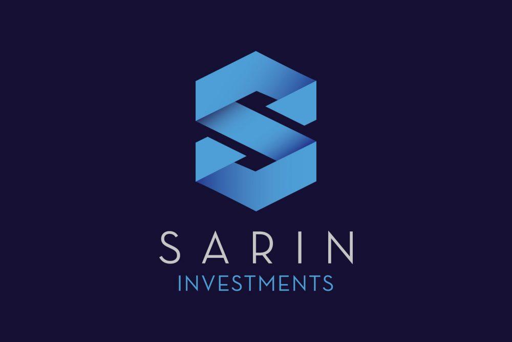 Sarin logo reversed